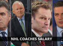 NHL Coaches Salary